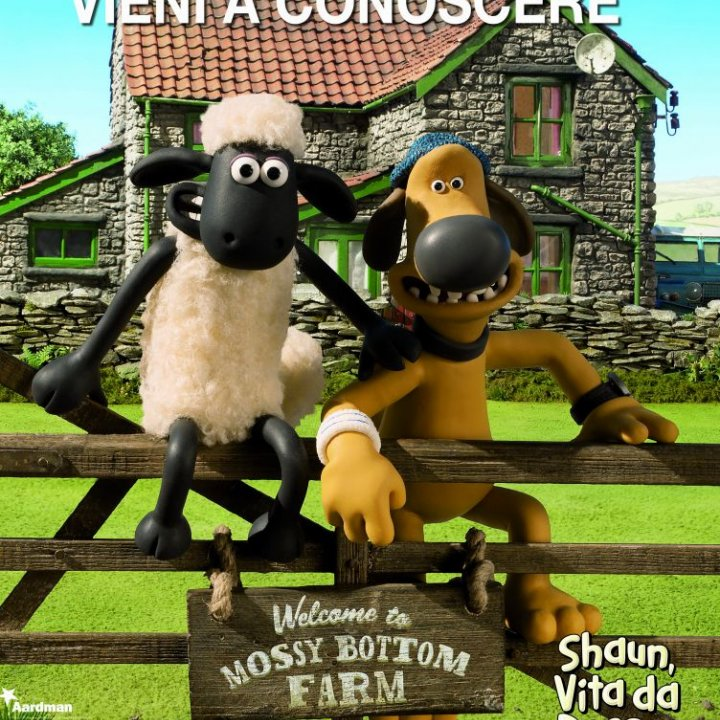 VIENI A CONOSCERE SHAUN THE SHEEP - RIMANDATO