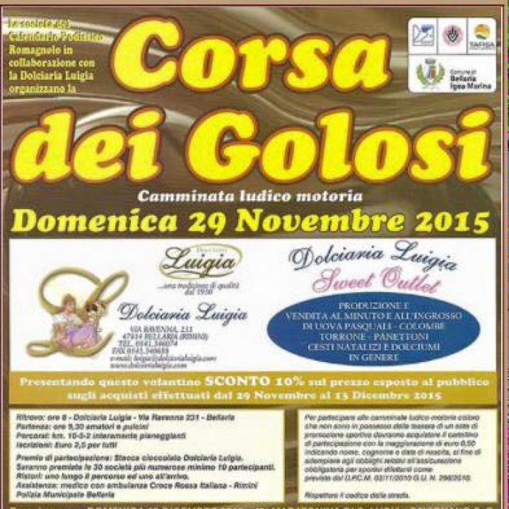 CORSA DEI GOLOSI