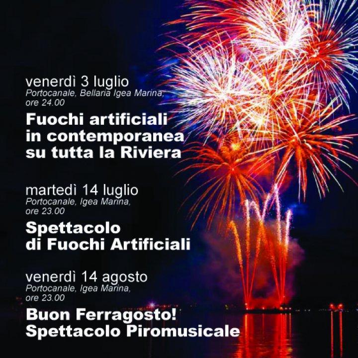 SPETTACOLO DI FUOCHI ARTIFICIALI