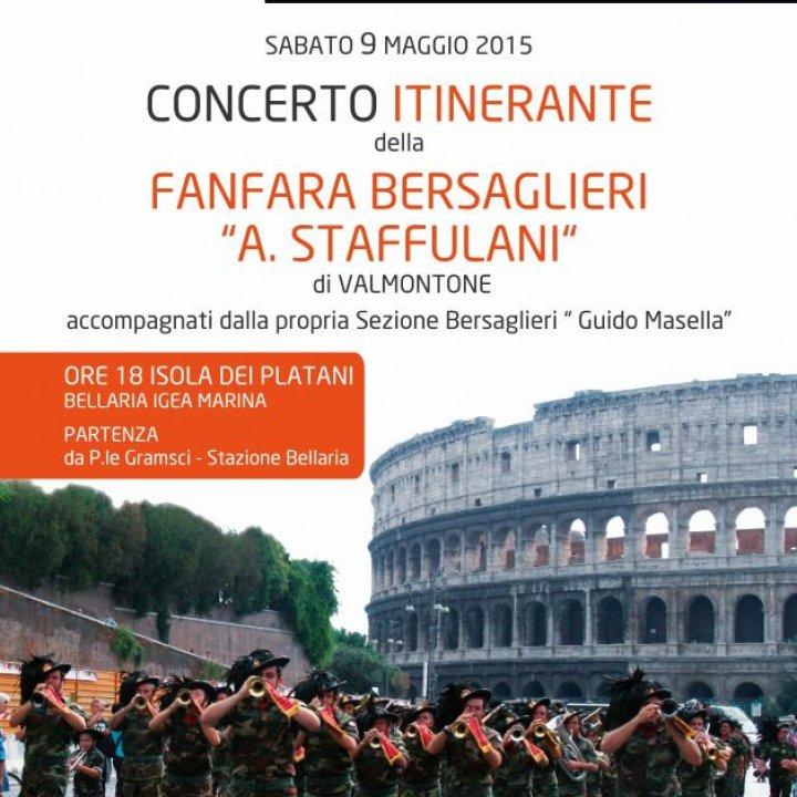 "Concerto Itinerante Fanfara Bersaglieri ""A. Stuffolani"""