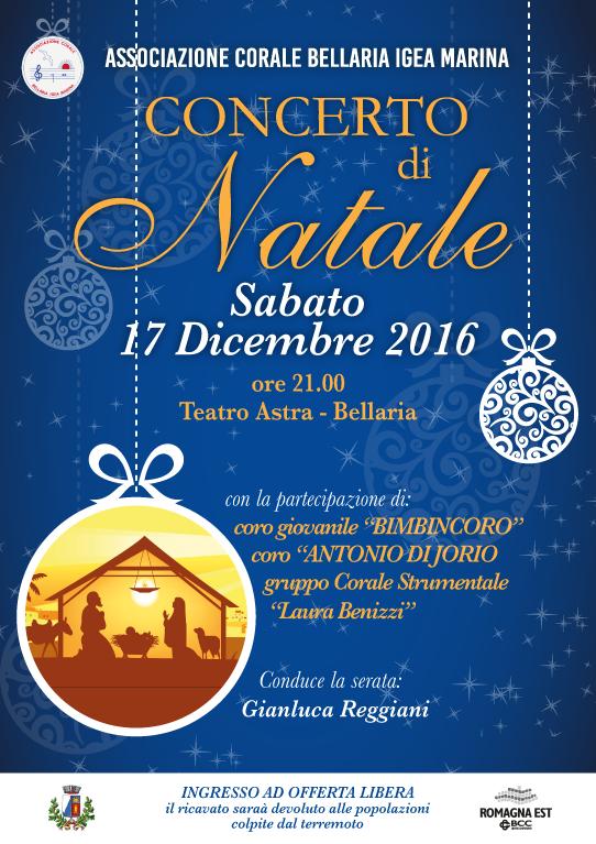 Concerto Di Natale.Concerto Di Natale Bellaria Igea Marina Vacanze Mare