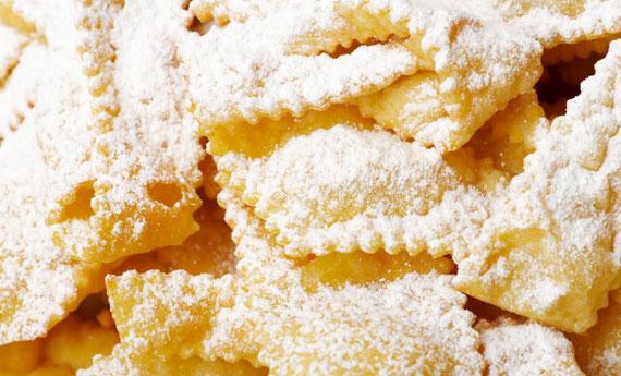 Tutti i dolci tipici di carnevale