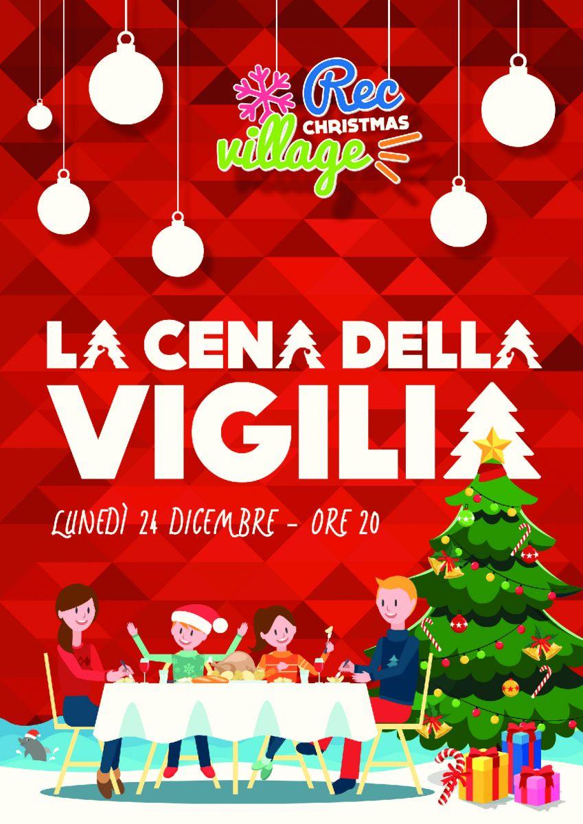 Immagini Di Vigilia Natale.La Cena Della Vigilia Di Natale Al Rec Christmas Village Di Igea